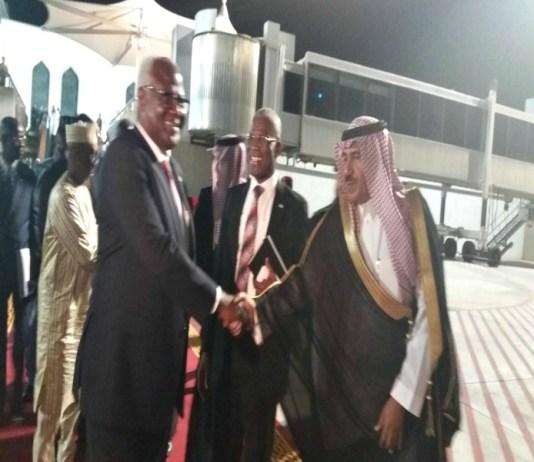 PRESIDENT KOROMA ENDS OFFICIAL VISIT TO SAUDI ARABIA