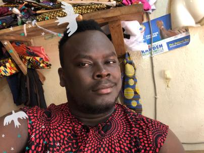 I Rep Salone interview with Hudson Martins - a Sierra Leonean Fashion Designer4