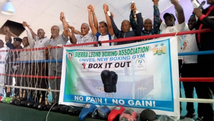 Sierra Leone Boxing Association (SLBA) Boxing Gym Uplifted