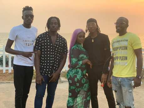 Sierra Leonean Markmuday collaborating with Nigerian artist Solidstar on an up-coming song14