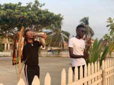 Sierra Leonean Markmuday collaborating with Nigerian artist Solidstar on an up-coming song19