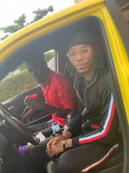 Sierra Leonean Markmuday collaborating with Nigerian artist Solidstar on an up-coming song3