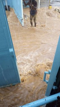 Excessive Downpour Render Residents in Freetown Homeless on Friday