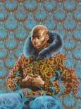 Kehinde Wiley (American, b. 1977): Kern Alexander Study I, 2011. Oil on paper, 53 x 40 inches. © Kehinde Wiley. Photo: kehindewiley.com