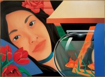 Tom Wesselmann (American; Pop Art, Assemblage; 1931-2004): Bedroom Painting #43, 1979. Oil on canvas, 76 x 103 inches. The Museum of Contemporary Art, Los Angeles, CA, USA. © The Estate of Tom Wesselmann.