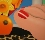 Tom Wesselmann (American; Pop Art, Assemblage; 1931-2004): Bedroom Painting N° 7, 1967-1969. Oil on canvas. Philadelphia Museum of Art, PA, USA. © Estate of Tom Wesselmann / SODRAC, Montreal / VAGA, New York. © This artwork may be protected by copyright.