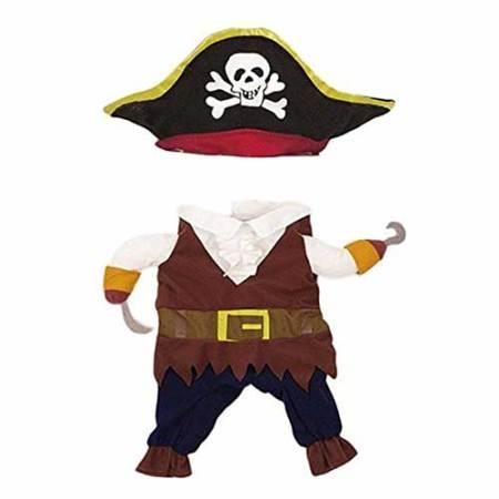 Katzenkostüm Pirat
