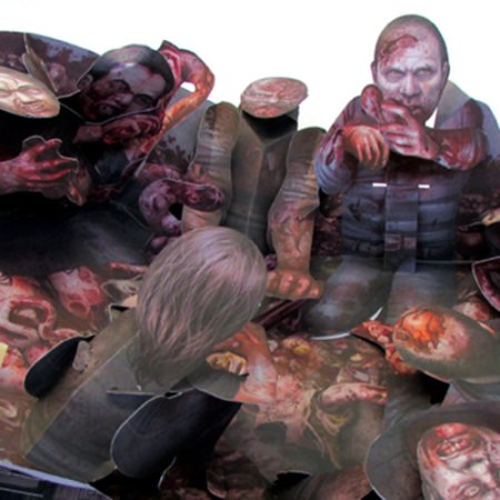 The Walking Dead Geschenk Pop Up Buch