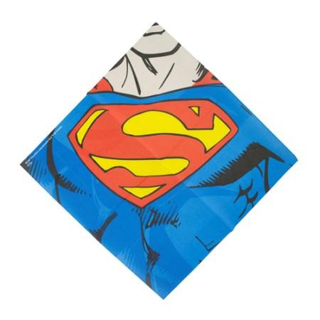 Partyutensilien für die nächste Superhelden Parts: Superhelden Servietten