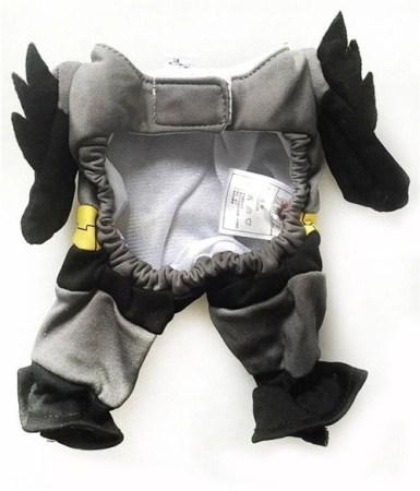 Hundekostüm Batman - Batdog Outfit für Hunde