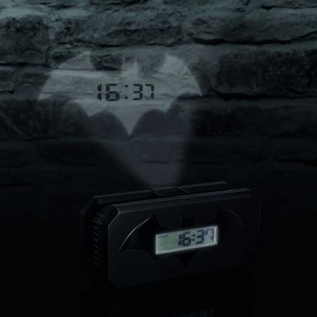 Batman Wecker Projektion Batsignal