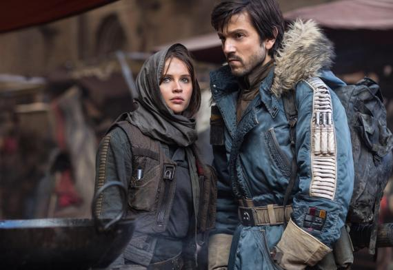 Rogue One - A Star Wars Story - Felicity Jones und Diego Luna