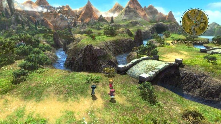 Ni No Kuni 2 - Landschaft