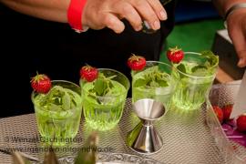 Cocktail mit Absinth    Abtshof Magdedburg