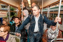 Magdeburger Kulturnacht | Mit der 4 um die Welt - Reisebericht von  Annett Gröschner