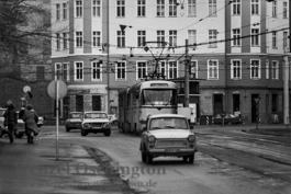 Hallische Straße  |  Magdeburg 1989