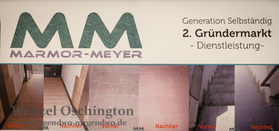 Marmor Meyer  -  Reinigen, Polieren, Imprägnieren von Natursteinen
