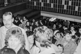 Magdeburg Hauptbahnhof:  18. November 1989  – 5.45 Uhr geht der Zug nach Braunschweig