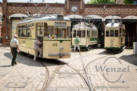 Sudenburg: historische Straßenbahnen