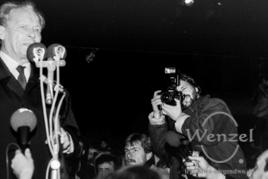 Willy Brandt - Domplatz Magdeburg - 19. Dezember 1989