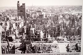 Magdeburg nach dem Angriff am 16. 1. 1945