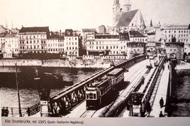 Alte Strombrücke vor 1945