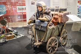 Handwagen von Ausgebombten