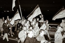 Auf dem Weg zur deutschen Einheit - Montagsdemo Februar 1990