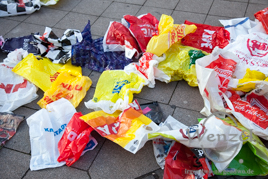 Umweltsünde Plastiktüte