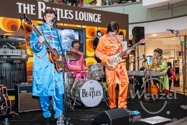 Beatles Tage im Alle-Center Magdeburg - Yeah, yeah, yeah - die Be4tles