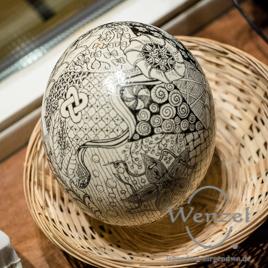 Über  20 Buck-Art-Eier werden am 29. März im Kiez Buckau versteigert