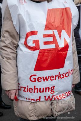 GEW-Kundgebung //  Alter Markt Magdeburg
