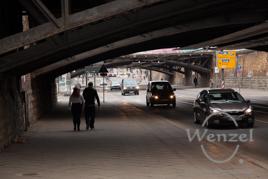 sanierungsbedürftig: Eisenbahnbrücken über die Ernst-Reuter-Allee