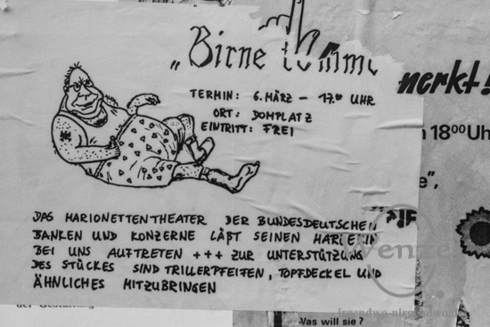Wahl –   & Material – Schlacht vor der Volkskammerwahl 1990 in Magdeburg