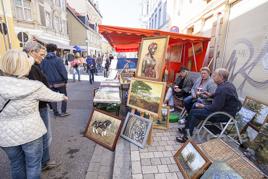 Heinz, der Kunstmarkt im Buckauer Engpass