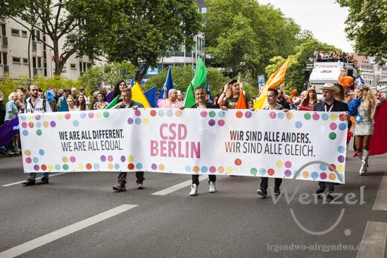 Christopher Street Day - Berlin 2015