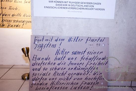 Otto und Elise Hampel  –  Postkarten gegen Hitler  –  48 h Neukölln