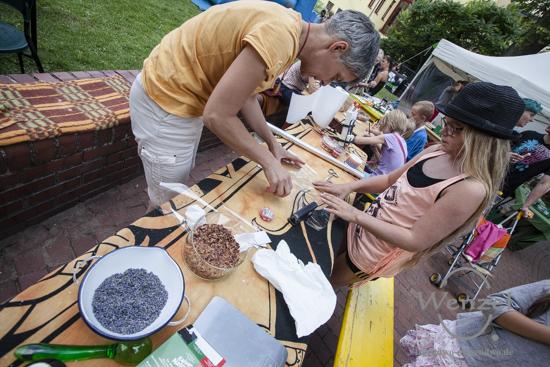 Klein, fein und (fast) familiär - Hoffest im Volksbad Buckau