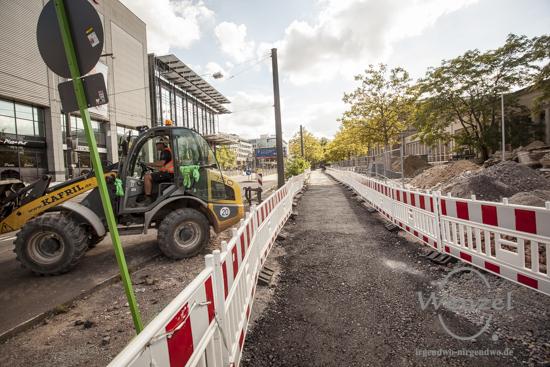 Bauarbeiten City Tunnel Magdeburg -  City Carré