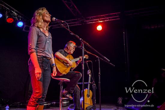 Carmen Orlet & Hugo Dietrich beim Festival Gundis Lieder – Gundis Themen