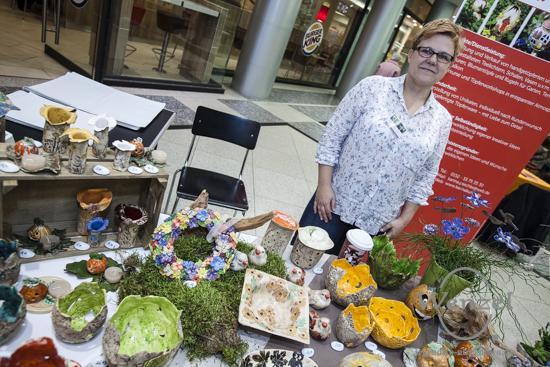 Karina's Töpferkunst - Gründermarkt Magdeburg 2015