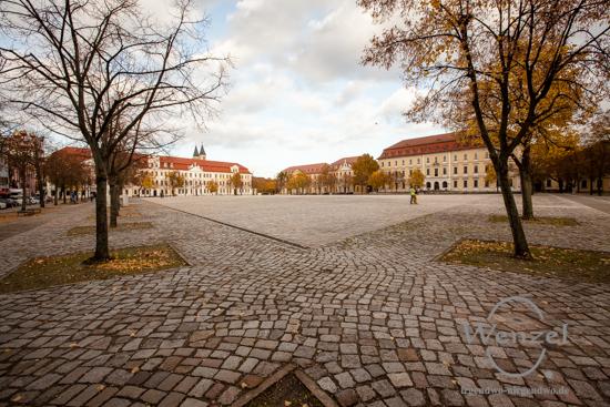Magdeburg im Herbst - Domplatz