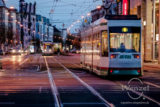 Die Straßenbahn bringt es  jährlich auf 5,3 Millionen Fahrplankilometer