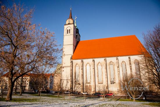 Unterwegs in Magdeburg - Januar 2016 -  Johanniskirche