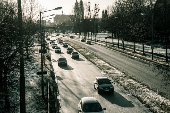 Unterwegs in Magdeburg - Januar 2016 - Schleinufer