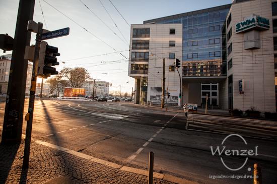 Otto-von-Guericke-Straße - City Carré - Blickwinkel Magdeburg