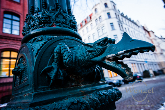 Krokodil - Hegelstraße - Blickwinkel Magdeburg