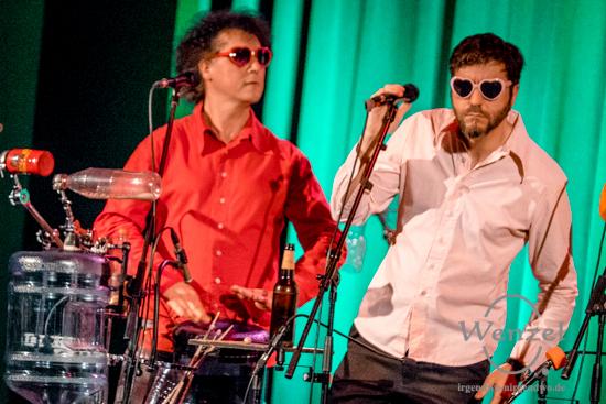GlasBlasSing Quintett im Moritzhof: Allzeit volle Pulle!