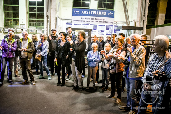 Magdeburger Kulturnacht 2016, Sax'n-Anhalt-Orchester, Tango Argentino, Con Corazón,Technikmuseum –  Foto Wenzel-Oschington.de