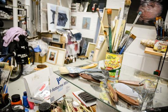 Offene Ateliers, Tessenowgaragen, Magdeburg, Kunst, Künstler –  Foto Wenzel-Oschington.de